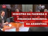 Ministro da Fazenda e Finanças renuncia na Argentina