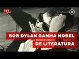 Cantor e compositor Bob Dylan recebe Prêmio Nobel da Literatura