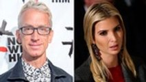 Ivanka Trump's Leg Groped by Andy Dick in Old 'Jimmy Kimmel' Video [Watch] | THR News