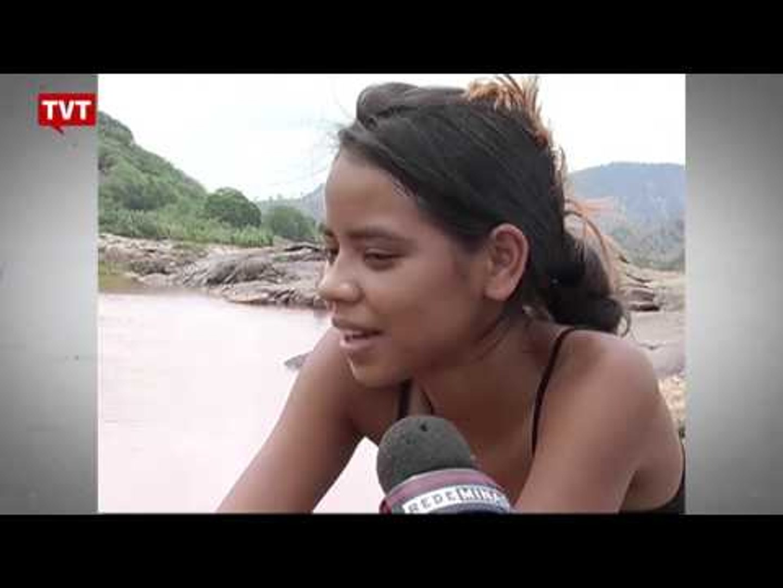 Tradição do povo indígena Krenak, banho no Rio Doce acabou