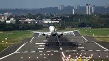 Impossible pour se pilote de ligne de poser son avion à cause de la tempête