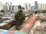 Após incêndio, área ao lado da Favela do Moinho é cedida para estacionamento