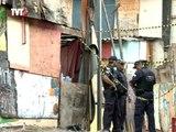 Moradores da favela do Moinho tentam reconstruir barracos mas são impedidos