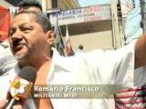 Trabalhadores sem-teto fazem protesto em Taboão da Serra contra ação truculenta da GCM