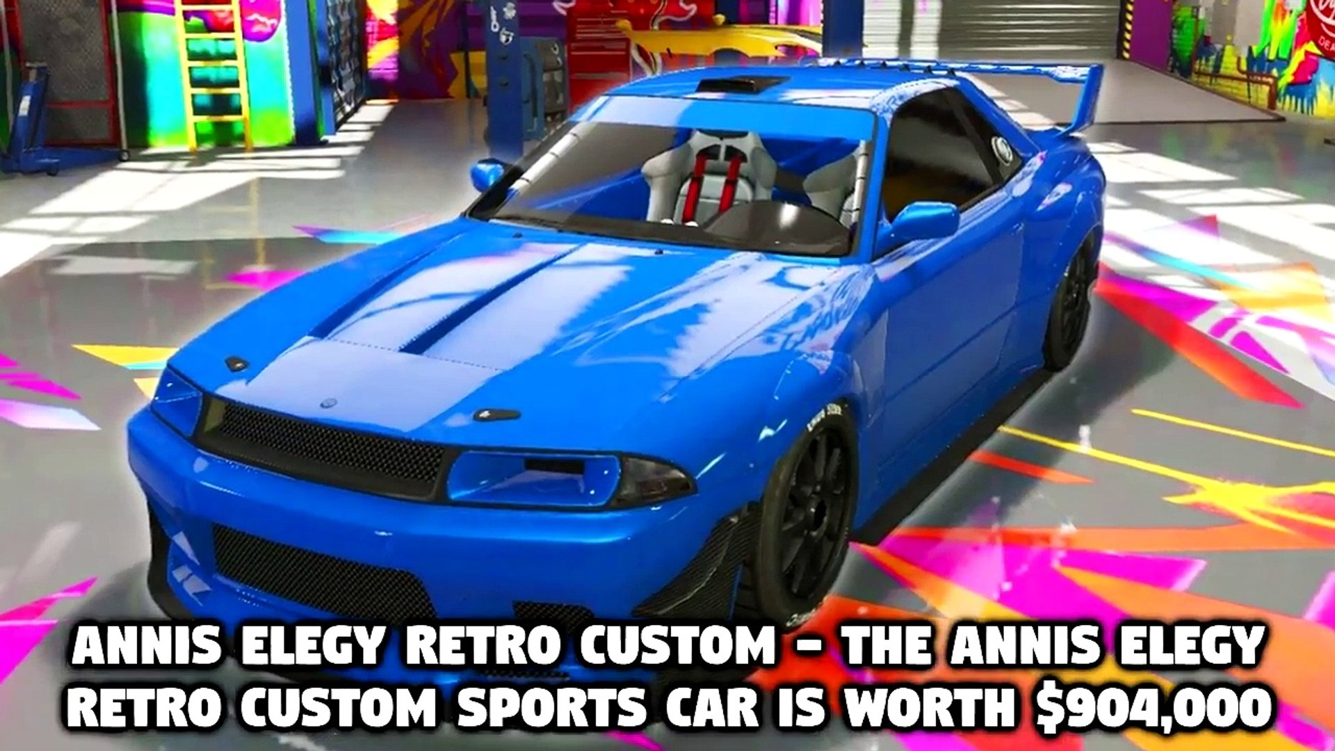 Top 10 Most Expensive Sports Cars In GTA V: Online (Elegy Retro Custom,  Coil Raiden and More)