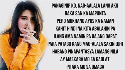 Nadarang - Aiana Juarez cover (Lyrics)