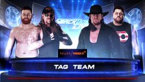 WWE 2K18 Undertaker 2000 And Sami Zayn VS. The Undertaker And Kevin Owens [Lord Hater]