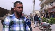 يوم نظافة تطوعي بمشاركة الشرطة الحرة في بلدة صيدا شرق #درعاتقرير: شام مقداد #أورينت #سوريا