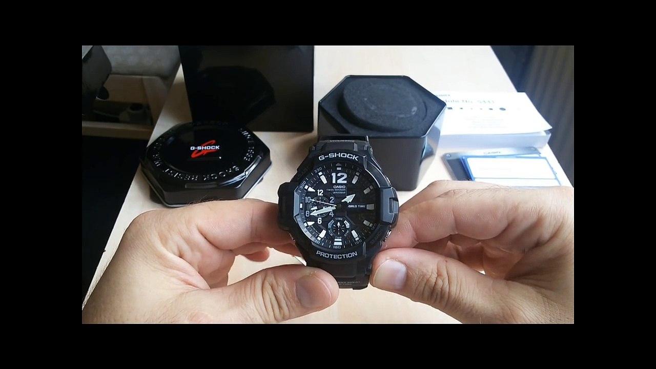 2018 Model GA 1100 Casio watch G Shock Gravity Master  J7o9S