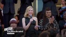 """Cate Blanchett """"Il est temps que les marches de l'industrie soient accessibles"""" - Cannes 2018"""
