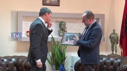 Ambasadori i Sllovenisë, Bojan Bertoncelj, vizitë kryetarit të Prizrenit, Mytaher Haskuka