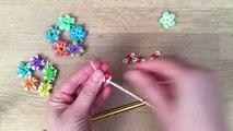 Loom Bands Flower Ring, Bracelets DIY (Fingers Only) - Cool Craft