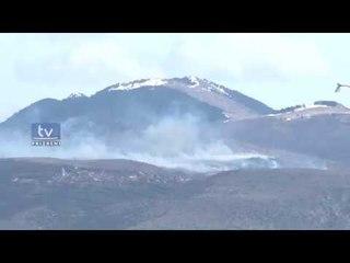 Shpërthen një zjarrë i madh në afërsi të fshatrave të Grykës së Lumbardhit