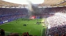 Hamburger SV vs Borussia Mönchengladbach HSV Abstieg