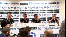 Η συνέντευξη Τύπου των Λουτσέσκου και Βιεϊρίνια - PAOK TV