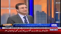 PMLN Was Removed 2000 Chairs During Nawaz Sharif's Jehlum Jalsa Due To Lack of People- Moeed Pirzada