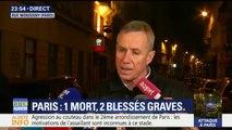 """Attaque à Paris: """"L'individu a crié Allahou akbar. La section antiterroriste a été saisie"""", indique le procureur Molins"""