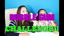 Bubble Gum Challenge!Blowing Bubble Gum Bubbles!!B2cutecupcakes