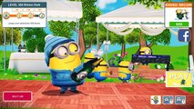 Despicable Me 2 - Minion Rush : Snowboarder On Rocket Skis, Roller Skates And BMX Bike !