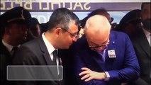 CHP�li Özgür Özel, şehit cenazesinde gülerek sohbet etti