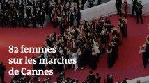 Cannes 2018 : 82 femmes montent les marches pour « l'égalité salariale »