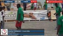 Open International de Dakar (Sénégal) 2018 : 1/4 Sénégal VS Liban