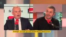 """François de Rugy : """"Je crois que développer le service publique ferroviaire français passe par la concurrence"""""""