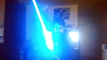 Was this lightsaber worth the $752 a Star Wars fan paid for it? Wait till you see what it can do!