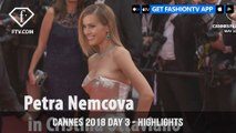 Josephine Skriver in Highlights from Cannes Film Festival 2018 Red Carpet on Day 3   FashionTV   FTV