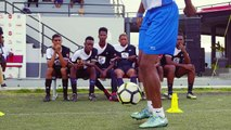 This Thursday at 8PM, our Fete Five Football skills and drills challenge airs on