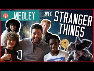 """[MEDLEY] """"LOVE YOURSELF / SHOULD I STAY OR SHOULD I GO"""" ... w/ STRANGER THINGS"""