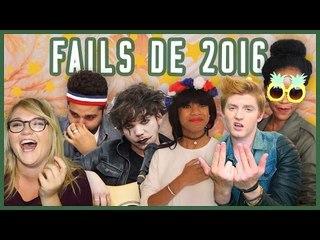 [BÊTISIER 2016] ON FAIT LE BILAN, CALMEMENT (Fails, fous rires... et MUSIQUE)