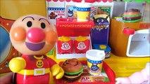 メルちゃん アニメ おもちゃ アンパンマン ハンバーガーやさん バイキンマン ❤ お店屋さん ごっこ 遊び 子供向け トイキッズ おもちゃアニメ キッズ アニメ&おもちゃ Toy anpanman
