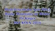 Modelleisenbahn im Winter von Pit Karges mit Loks aus Amerika - Ein Video von Pennula zum Thema Modelleisenbahnanlage und Modellbahnausstellung