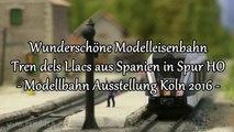 Die wunderschöne Modelleisenbahn Tren dels Llacs aus Spanien in Spur H0 - Ein Video von Pennula zum Thema Modelleisenbahnanlage und Modellbahnausstellung