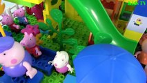 Peppa Pig And Masha and The Bear Blocks Mega House Construction Lego Sets Fun Toys For Kids # 2