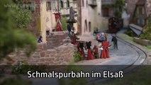 Modelleisenbahn der Schmalspurbahn im Elsaß von Patrice Hamm - Lahnsteiner Modellbahntage - Ein Video von Pennula zum Thema Modelleisenbahnanlage und Modellbahnausstellung