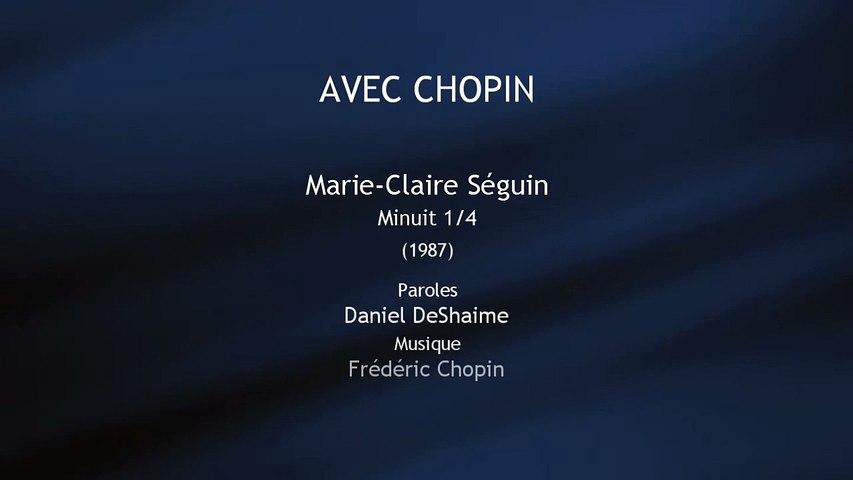 Avec Chopin - Marie-Claire Séguin