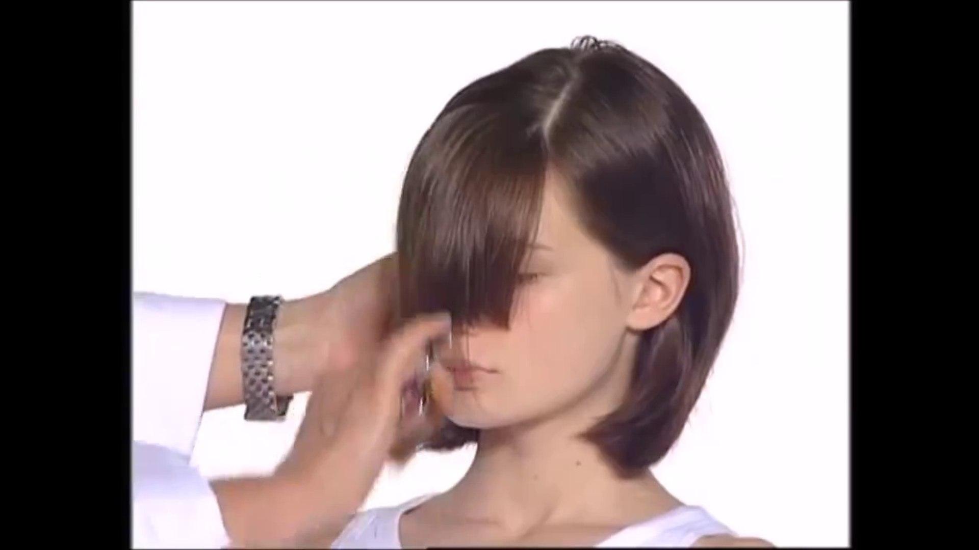 vidal sassoon-abc - long to bob haircut tutorial
