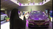 An exhibition selling cars to women opens in Saudi Arabia