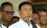 Wiranto: Pemerintah Berkomitmen Tegas Atasi Teror