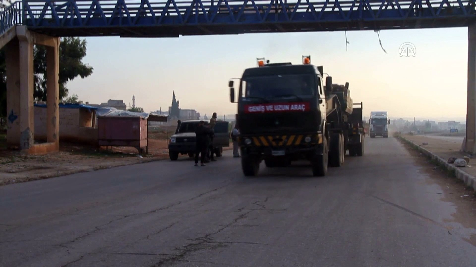TSK İdlib'de 11'inci ateşkes gözlem noktasını kurdu - İDLİB