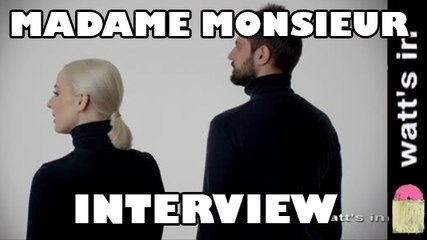 Madame Monsieur : Mercy Interview Exclu