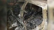 Pa Koment - Vlorë, dy Audi shkrumbohen gjatë natës - Top Channel Albania - News - Lajme