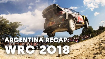 WRC 2018: Top 5 highlights from Rally Argentina 2018.