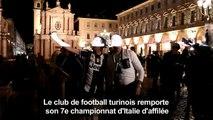 Football italien: Turin fête le 7e titre d'affilée de la Juve