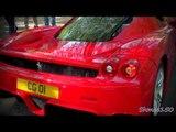 Ferrari Enzo Startup and F355 Rev - Scud Run April 2011