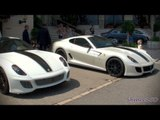 Double GTOs! Two Ferrari 599 GTOs in Monaco
