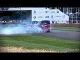 Mini Countryman WRC DONUTS! Kris Meeke at the Wheel