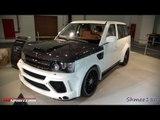 Mansory Range Rover Sport - Dubai Motorshow 2011 with GTspirit.com